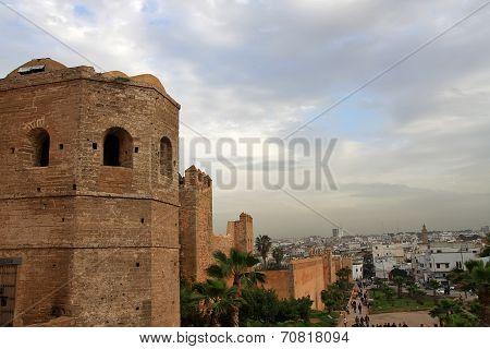 City Walls Of Rabat, Morocco
