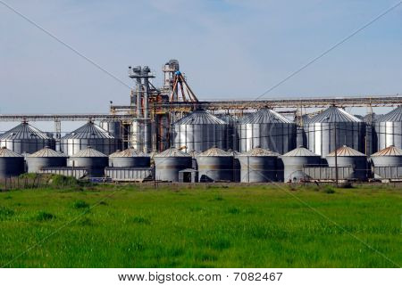 Rice Grain Silos