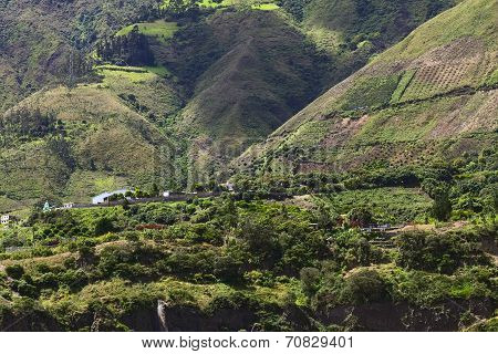 Rural Landscape in Central Ecuador