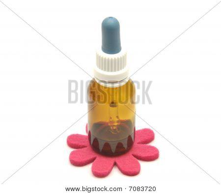 Bach Flower Remedies And Felt Decoration