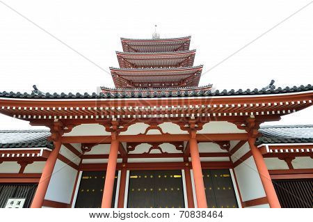 Asakusa Area, Where The Old Temple Is Located, Tokyo, Japan