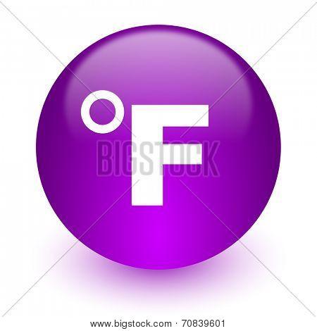 fahrenheit internet icon
