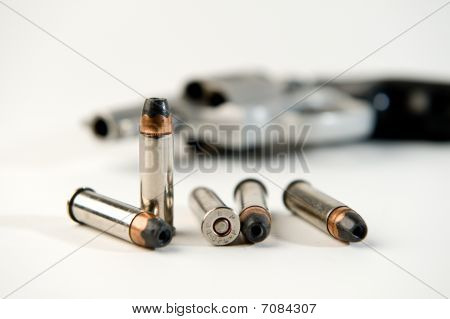 Bullets and Revolver