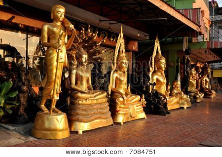 Various Buddha Brass Shine