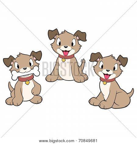Cartoon Puppies
