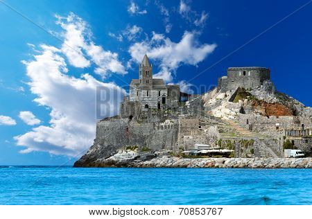 San Pietro Church Of Portovenere - Italy