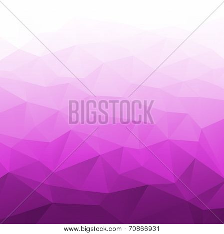 Abstract Gradient Purple Geometric Background.