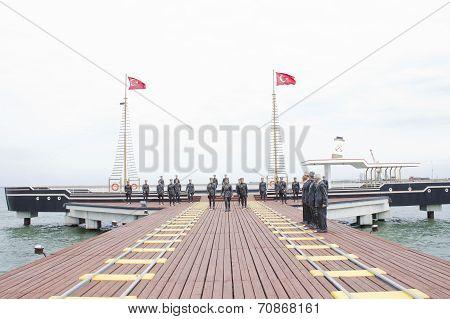 Atatürk's Arrival In Samsun