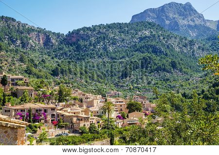Fornalutx village on Majorca