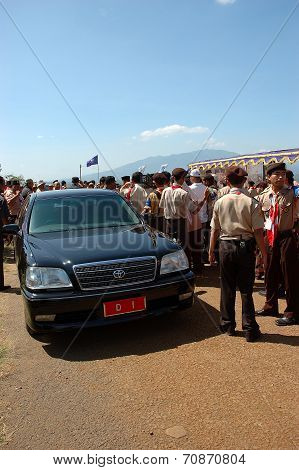 West Java Governor car