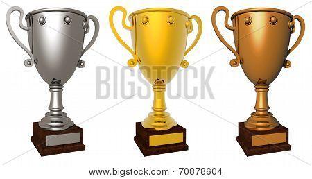 Award cup.