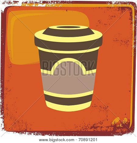 Drink Theme Cappuccino