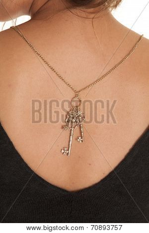 Back Key Necklace