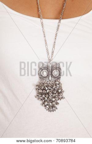 Owl Eyes Necklace