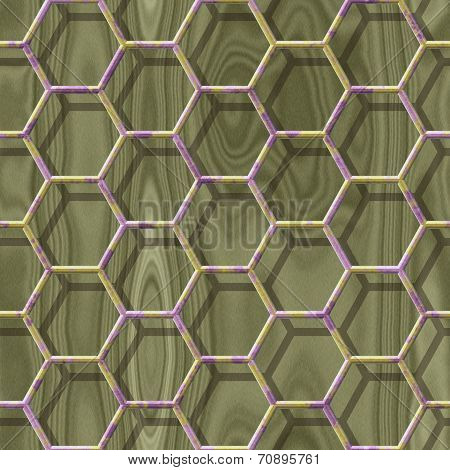 Wire Mesh Wood Seamless Generated Hires Texture