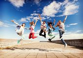 stock photo of break-dance  - summer - JPG