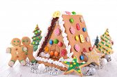 image of ginger bread  - christmas ginger bread - JPG
