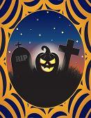 foto of cobweb  - Halloween jack - JPG