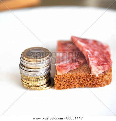 Coins and Salami