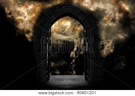 Doorway To Heaven Or Hell