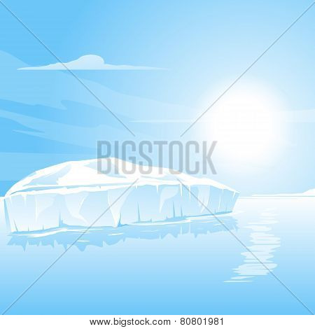 Big Iceberg Landscape