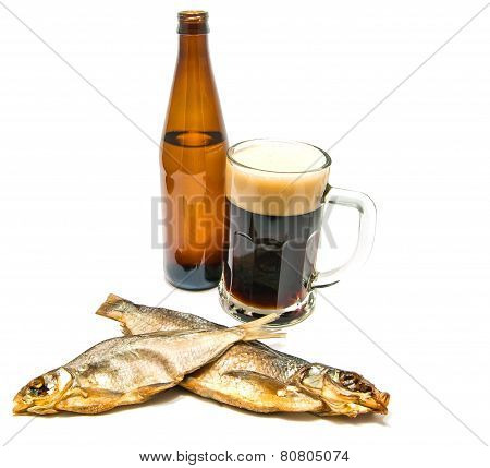 Two Stockfish And Dark Beer
