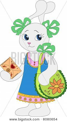 Hare-girl With A Bag And Patterned Envelope(41).jpg