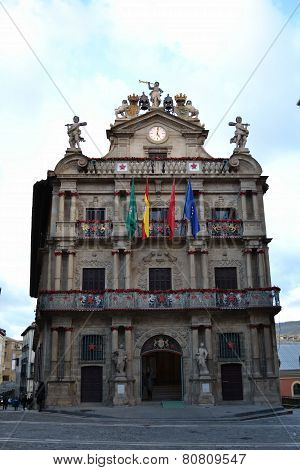 Pamplona's city hall