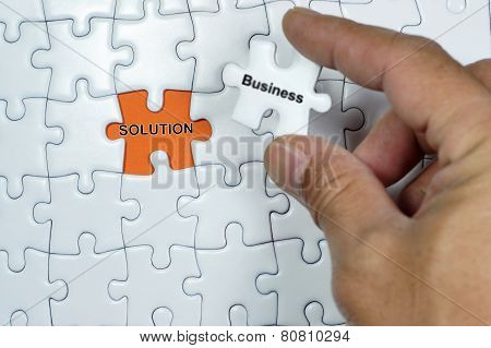 Business Solution Puzzle