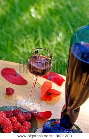 Frambuesa vino generoso