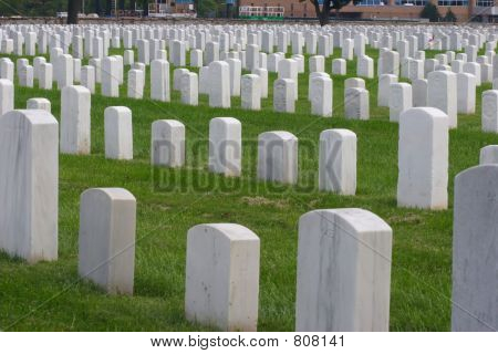 Rows of Tombstones