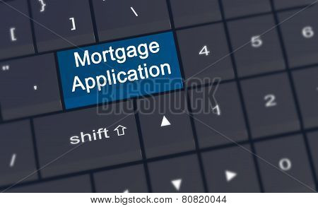 Mortgage Application Enter Key