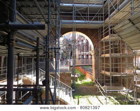 Portico Ottavia In Rome