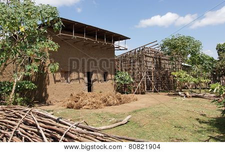 Homes, Great Rift Valley, Ethiopia, Africa
