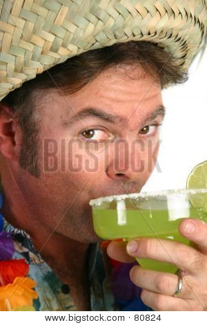 Margarita Man - Taking A Sip