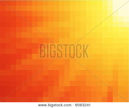 light burst vertical square mosaic