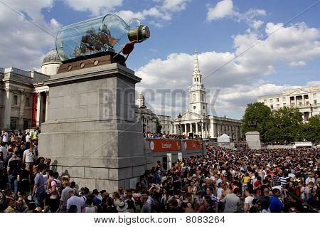 Trafalgar Square, Gay Pride London 2010