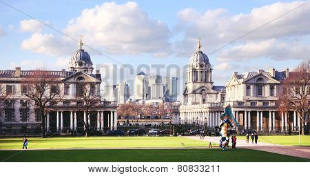Greenwich, Royal chapel. London