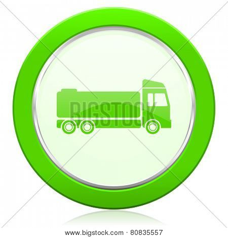 truck icon cargo sign