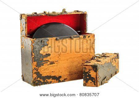 Old Record Box