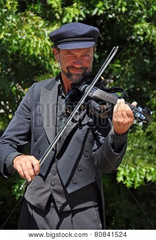 The Violinist, World Buskers Festival
