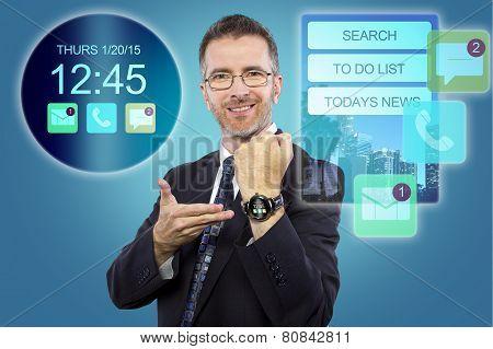 Smartwatch Interface
