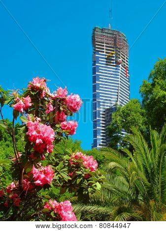 Eureka Tower Under Construction