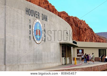Hoover Dam Tourism United States