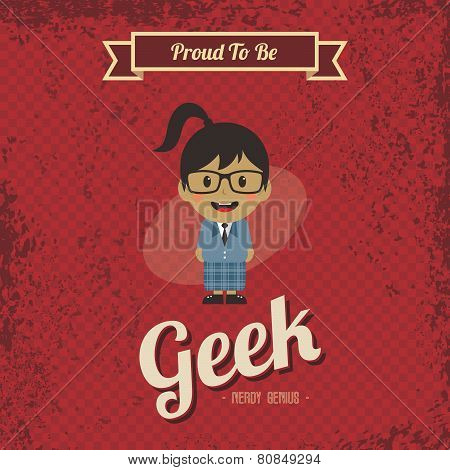 cartoon geek