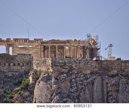 Athens erechtheion temple on acropolis