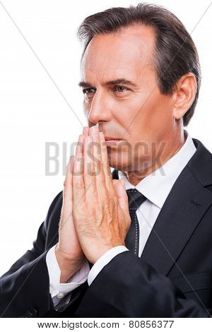 Praying For Business Success.