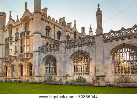 King's college (started in 1446 by Henry VI). Historical buildings