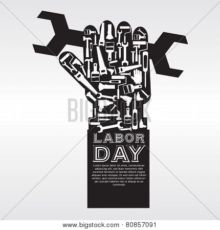 Labor Day Vector Illustration Conceptual.