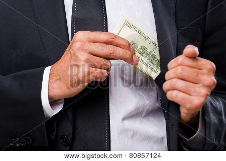 Bribe.